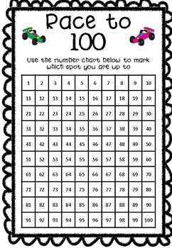 Addition - Race to 100