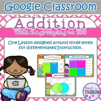 Addition Regrouping to 100 - Google Slides