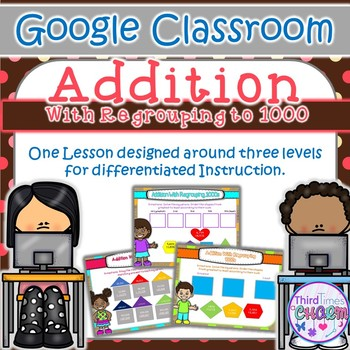Addition Regrouping to 1000 - Google Slides