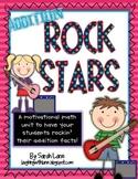 Addition Rock Stars {Leveled Addition Tests}