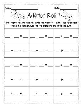 Addition Roll