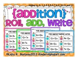 {Addition} Roll, Add, Write Gametivity