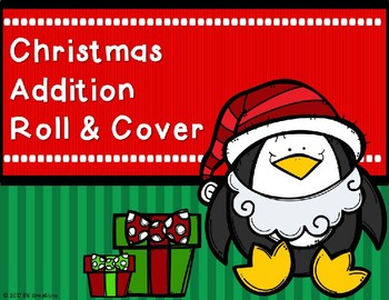 Addition Roll and Cover {Christmas Theme)