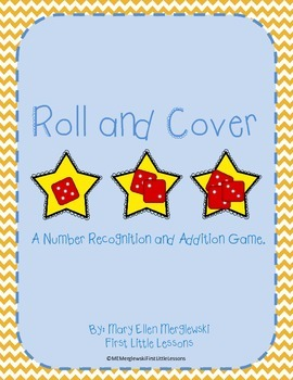 Addition Roll and Cover Star Freebie
