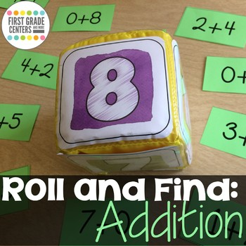 Addition Roll and Find