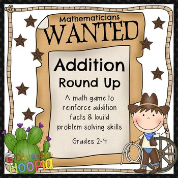 Addition Round Up: A Math Game to Reinforce Addition Facts