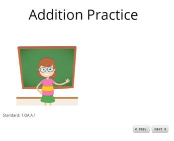 Addition SCORM eWorksheet