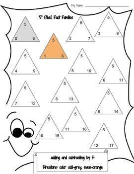 Math: Addition & Subtraction: K-2nd***FREEBIE**