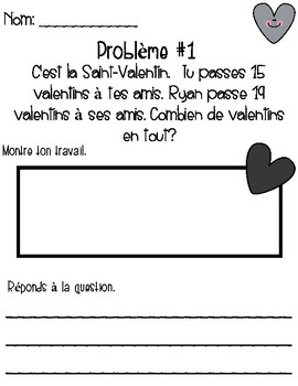 Addition Saint-Valentin
