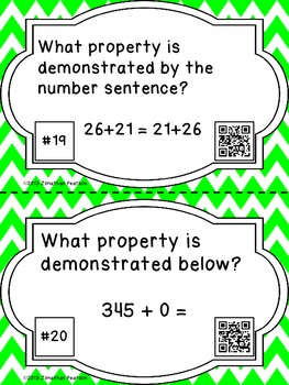 Addition Scavenger Hunt - 22 Task Cards with QR Codes for Self-Checking