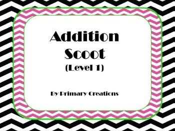 Addition Scoot Level 1