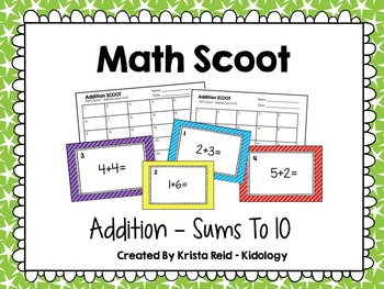 Addition Activities and Games