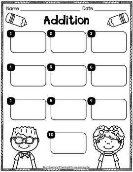 Addition Task Cards or Scoot