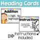Addition Scoot or Task Cards - Solve, Flip & Check