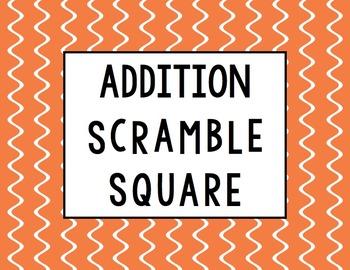 Addition Scramble Square