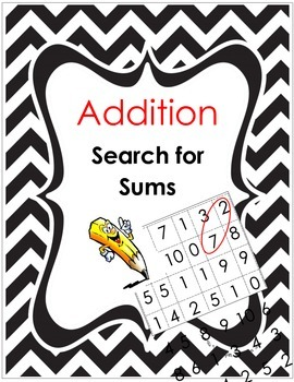 Addition - Search for Sums