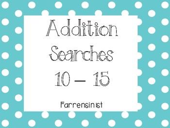 Addition Searches 10-15