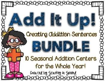 Addition Sentence Center: Building Equations {BUNDLE}
