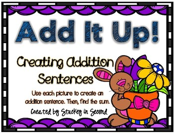 Addition Sentence Center (Easter Edition)