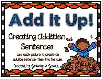 Addition Sentence Center (Fall Edition)