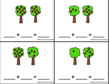 Addition Sentence Center: Building Equations (Fall Edition)