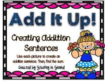 Addition Sentence Center (Spring Edition)