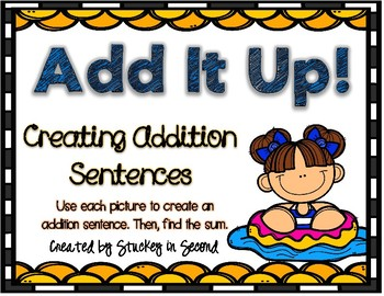 Addition Sentence Center (Summer Edition)