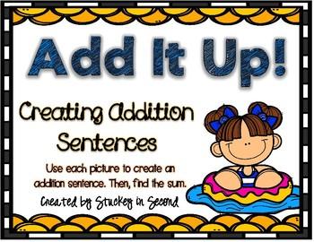 Addition Sentence Center: Building Equations (Summer Edition)