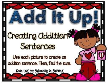 Addition Sentence Center (Valentine's Edition)
