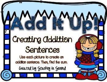 Addition Sentence Center (Winter Edition)