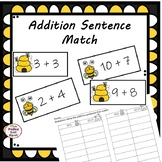 Addition Sentence Match (Up to 20)
