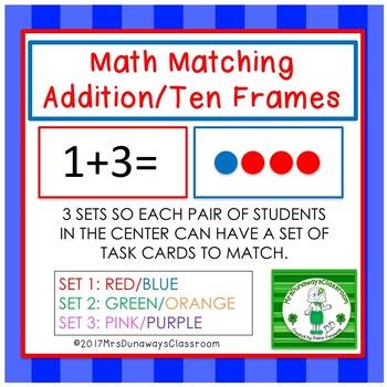Addition Sentence / Ten Frame Match