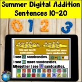 Addition Sentences 10-20 | Summer Digital
