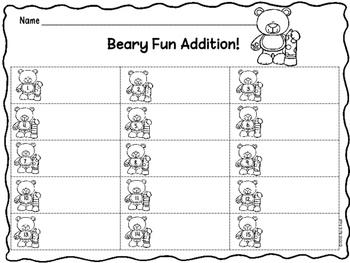Addition Set of 5: Math Around the Room