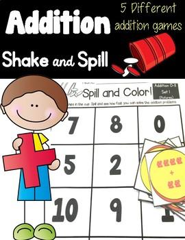 Addition Shake & Spill