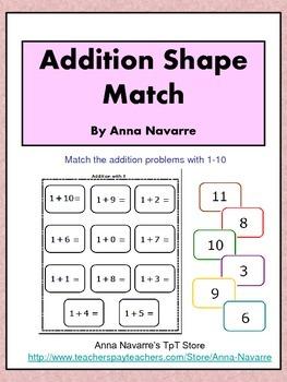 Addition Shape Match