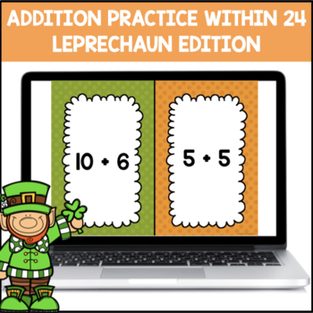 Addition Shout It Out (Leprechaun Edition)