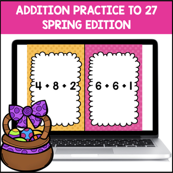 Addition Facts 0-12 within 24 (Spring Edition)