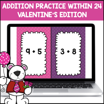 Addition Shout It Out (Valentine's Edition)