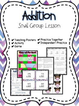 Addition Small Group Lesson