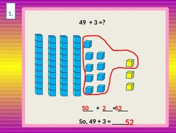 Addition Solve Two-Digit Problems by Making Tens from Ones for Visual Learners