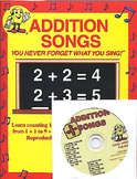 Addition Songs CD Kit by Kathy Troxel / Audio Memory