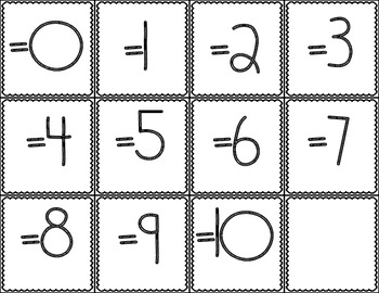 Addition Sort: A Fluency Building Game (Addition facts 0 to 5)