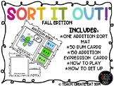 Addition Sort It Out! - Fall Edition