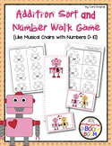 Numbers 0-10 -  Valentine's Day Number Walk Game K/1