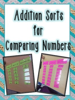 Addition Sort for Comparing Numbers