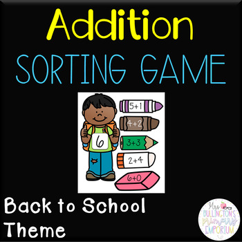 Addition Sorting Game