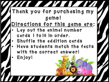 Addition Sorting Game! *NEW*