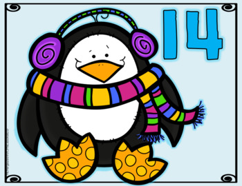 Addition Sorts 11-20: Winter Penguins And Mittens
