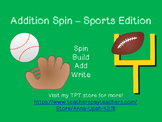 Addition Spin - Sports Edition